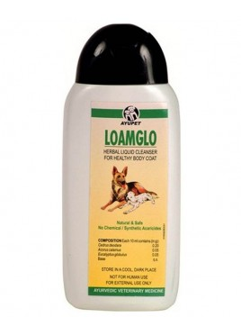 Ayurvet Loamglo Shampoo For Dogs 180 ml