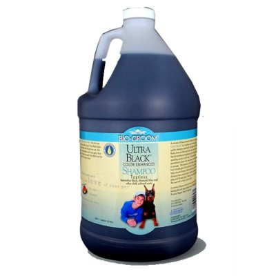 Bio-Groom Ultra Black Color Enhnaced Shampoo 3.8 ltr