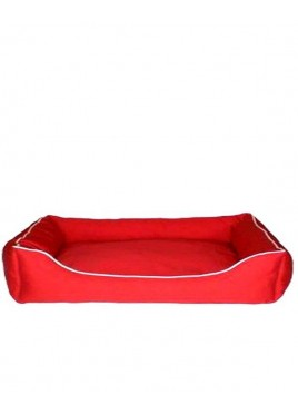 Dog Gone Smart Lounger Red Bed (37 x 31)
