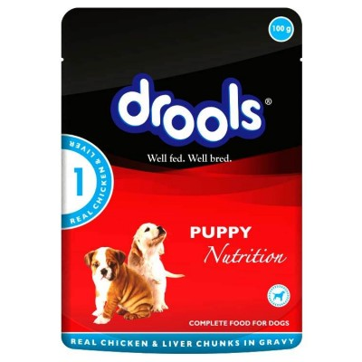 Drools Puppy Food Chicken Liver Gravy 150Gm