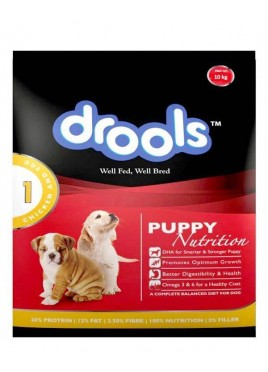 Drools Puppy Food Chicken and Egg 15 kg