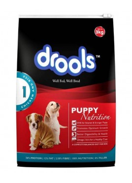 Drools Puppy Food Chicken and Rice 1.2 kg