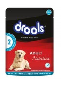 Drools Gravy Chicken Liver Adult Dog Food 150 gm