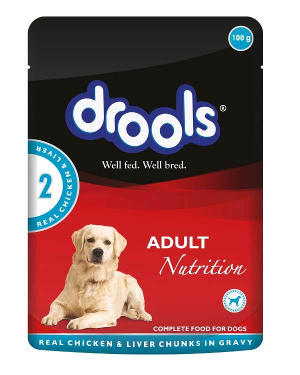 Drools gravy chicken liver adult dog food 150 gm forumfinder Image collections