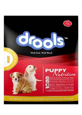 Drools Puppy Chicken And Egg Dog Food 10 kg