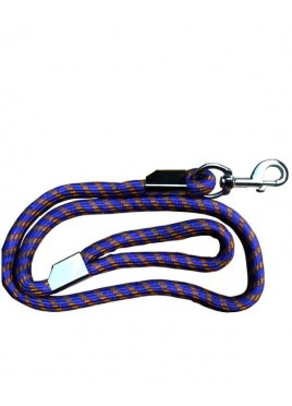 Fekrix Nylon Special Rope Leash for Dog Blue