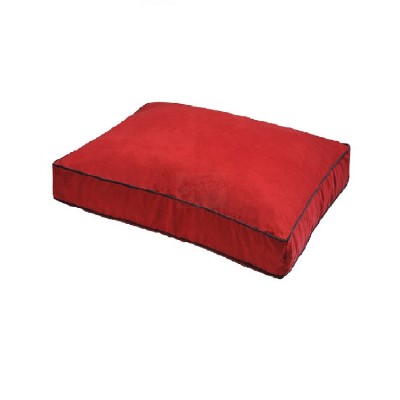 Fekrix Large Rectangular Dog Bed (Red)