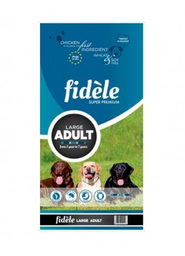 Fidele Adult Dog Food Large Breeds 1 Kg