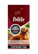 Fidele Adult Dog Food Light and Senior 4 kg