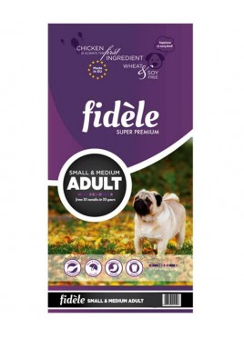 Fidele Adult Dog Food Small and Medium Breed - 15 kg