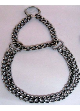 Fekrix Chrome Plated Double Chain 2mm (40 Cm)