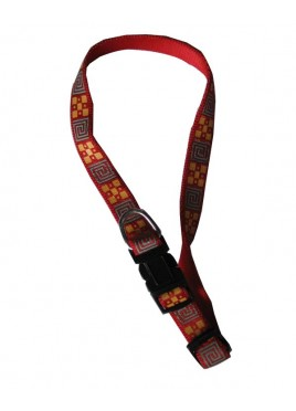 Fekrix Printed Collar-15mm (Red)