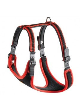 Ferplast Ergotattoo comfort Dog Harness-Medium (Red)