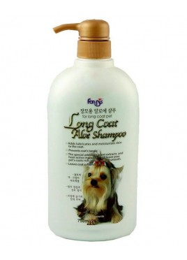 Forbis long Coat aloe Shampoo 750ml For Dog and cat
