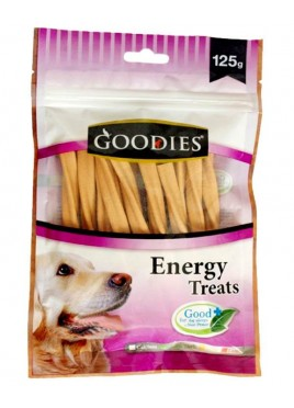 Goodies Dog Treats Liver Twisted Sticks 125gm