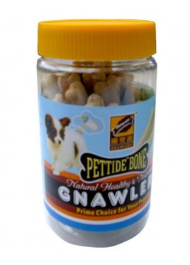 Gnawlers Pettide Bone Puppy Jar Treats 180g
