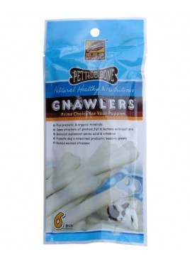 Gnawlers Pettide Bone Puppy Pouch Treats 40g