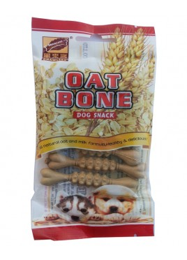 Gnawlers Oat Bone Dog Snacks (7pcs-55gm)