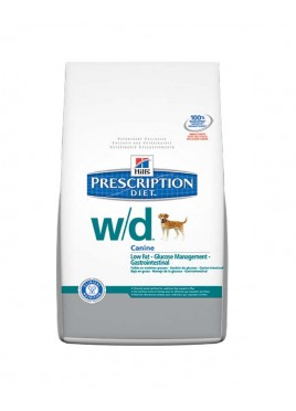 Hills SP Prescription Diet W/D Canine Low Fat Food (1.5kg)