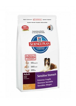 Hills Science Plan Canine Adult Sensitive Stomach Chicken Food (3kg)