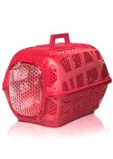 IMAC Carry Sport 3 Carrier For Dog and Cat-Red-(LxWxH-19x13x12.5 inch)
