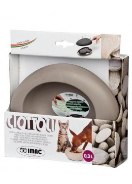 IMAC Ciottoli S03 Bowl For Dog and Cat - Beige - 300 ml