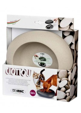 IMAC Ciottoli S06 Bowl For Dog and Cat - Grey - 600 ml