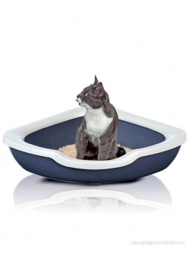 IMAC Fred Cat Litter Tray Triangular - Assorted