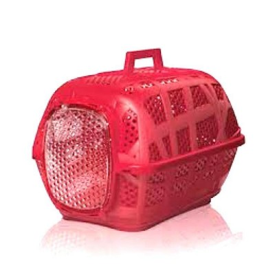 Imac Carry Sport Dog and Cat Medium Carrier Red