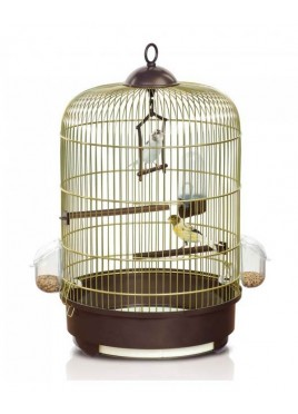 Imac Milly Bird Cage Brown Complete Home