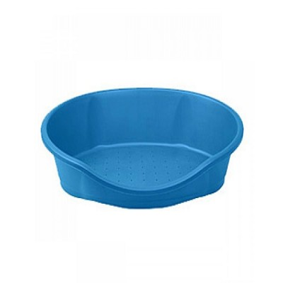 IMAC Dido- Blue - 95 Tub With Cushion For Dog & Cat -(Lxwxh - 37.5x22.5x11 Inch)