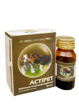 Indian Immunologicals Actipet supplement 30ml