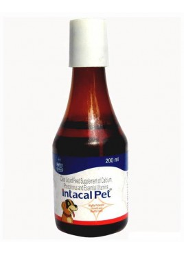 INTAS Intacal Pet Growth and Health tonic 200ml