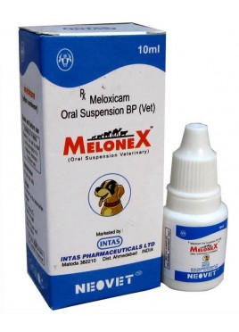 Intas Melonex Oral Suspension veterinary 10ml