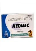 Intas Neomec 10 Mg (5-Tabs)