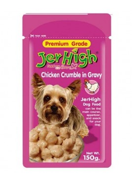 Jerhigh Chicken Crumble in Gravy