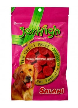 Jerhigh Salami Chicken Dog Treat - 100 gm