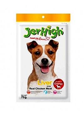 Jerhigh Dog Treats Liver Stick 70 Gm