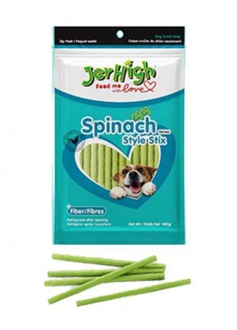 Jerhigh Spinach Style Dog Treat -100 gm