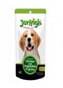 Jerhigh Chicken And Vegetable In Gravy Dog Treats 120 Gm
