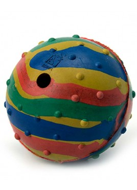 Kennel Doggy Rubber Musical Toy Ball Small