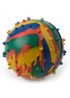 Kennel Doggy Rubber Solid Toy Ball Medium
