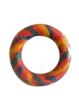 Kennel Doggy Rubber Ring Toy Medium