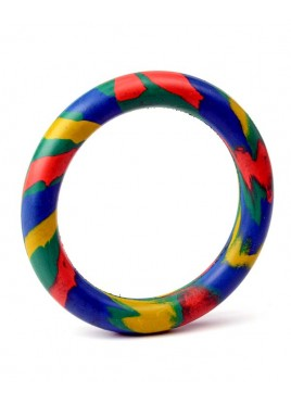 Kennel Doggy Rubber Ring Thin Toy