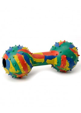 Kennel Doggy Rubber Musical Dumbell Large