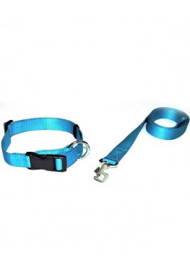 Kennel Doggy Nylon Dog Leash And Collars Set 3/4