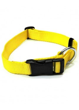 Kennel Doggy Nylon Click Lock Collars 1""