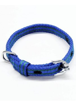 Kennel Doggy Nylon Pattern Dog Collars 1/2 Inch