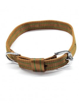 Kennel Doggy Nylon Pattern Dog Collars 1 Inch