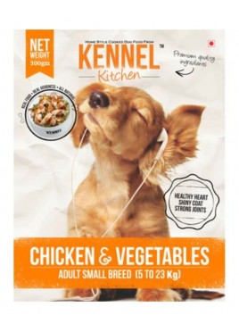 Kennel Kitchen Adult Small Chicken and Veg 300gm